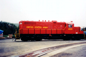 US Army Locomotive rehabilitation (side view)